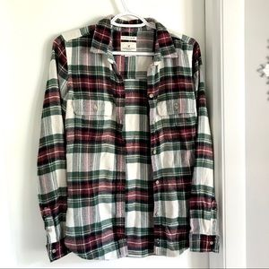 Women's American Eagle Classic Fit Flannel Size S